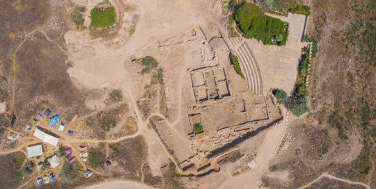 Orthofoto Archäologie