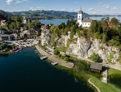 Luftbildfoto Traunsee in Österreich