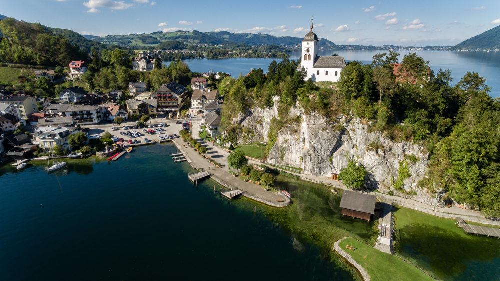 Luftbildaufnahme AIRinspector: Traunsee, Österreich